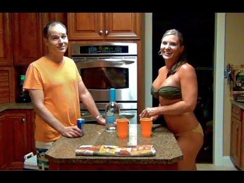 Bikini Girl And A Guy How To Make Dreamsicle Vodka