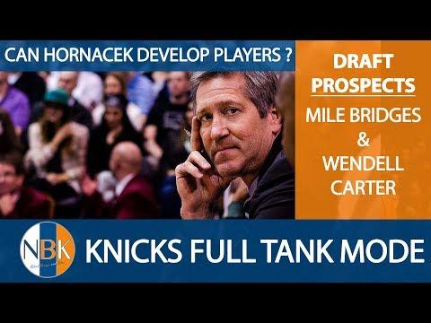 New York Knicks play Lifeless versus 76ers, 2018 NBA Draft prospects Miles Bridges & Wendell Carter.