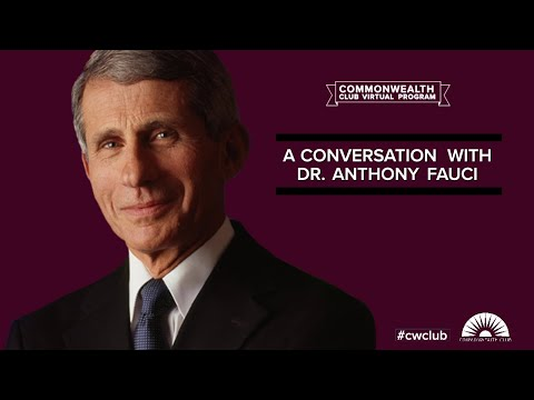 A Conversation with Dr. Anthony Fauci