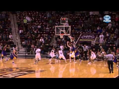 LSU - Anthony Hickey Game Winning Shot vs Mississippi State