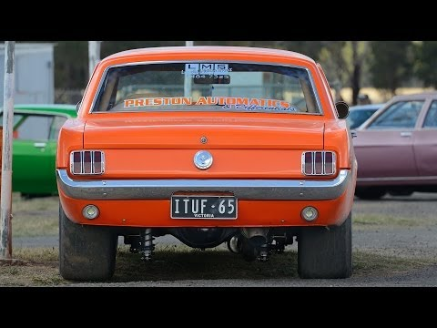 8-second turbo 6 Mustang street car ~ Tunnel Vision