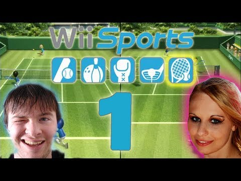 Let's Play Wii Sports Part 1: Tennis Missionen & Multiplayer Match