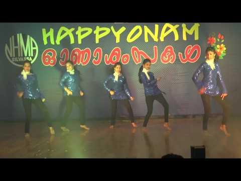 Malayalam Remix Dance Performance 2k16 -DANCING DIVAS
