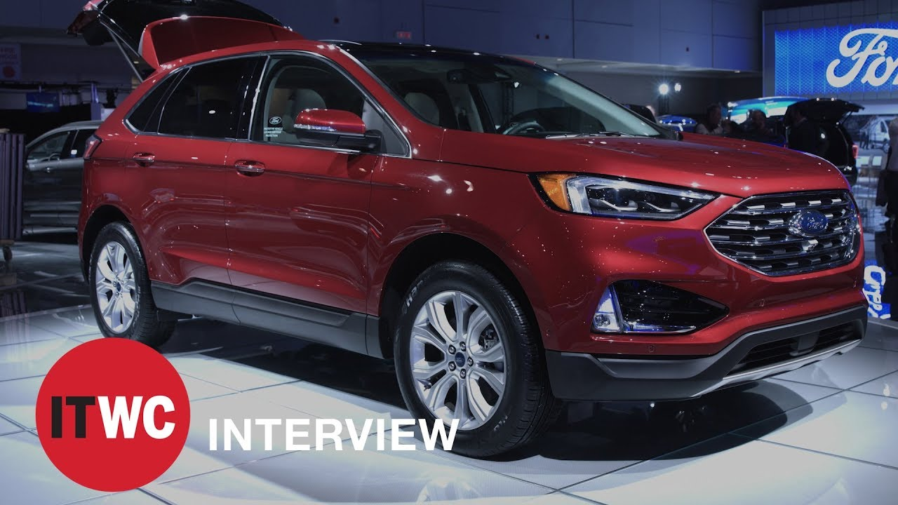 2019 ford edge is ford 39 s smartest suv yet youtube. Black Bedroom Furniture Sets. Home Design Ideas