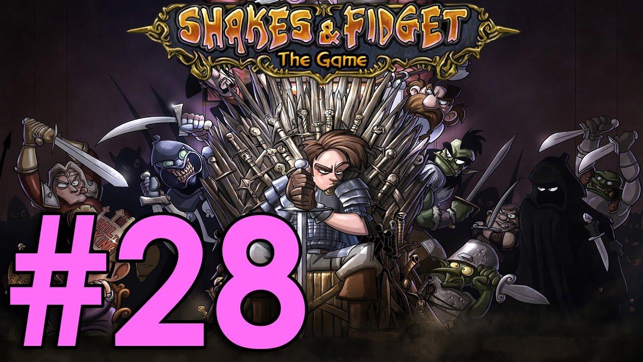 Shakes & Fidget #28 - 100 lvl, záchod, podzemka