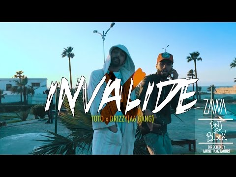 TOTO x Drizzy - INVALIDE  |A6Gang| (Official Music Video) #BNJ3 [Prod. by EraBeatz]