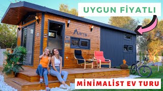 30 m2 Affordable Tiny Home Tour in İzmir - Tiny House Turkey