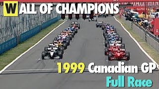 [1080p50] 1999 Canadian GP - Full Race