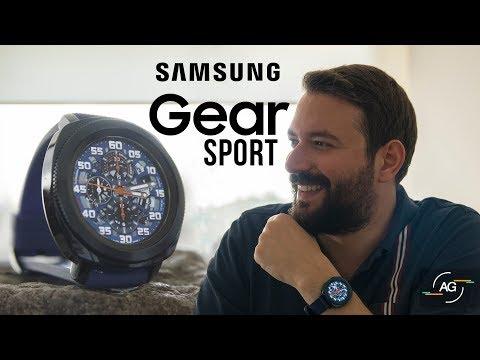 Samsung Gear Sport: Fiyatına Göre En Başarılı Akıllı Saat [4K]