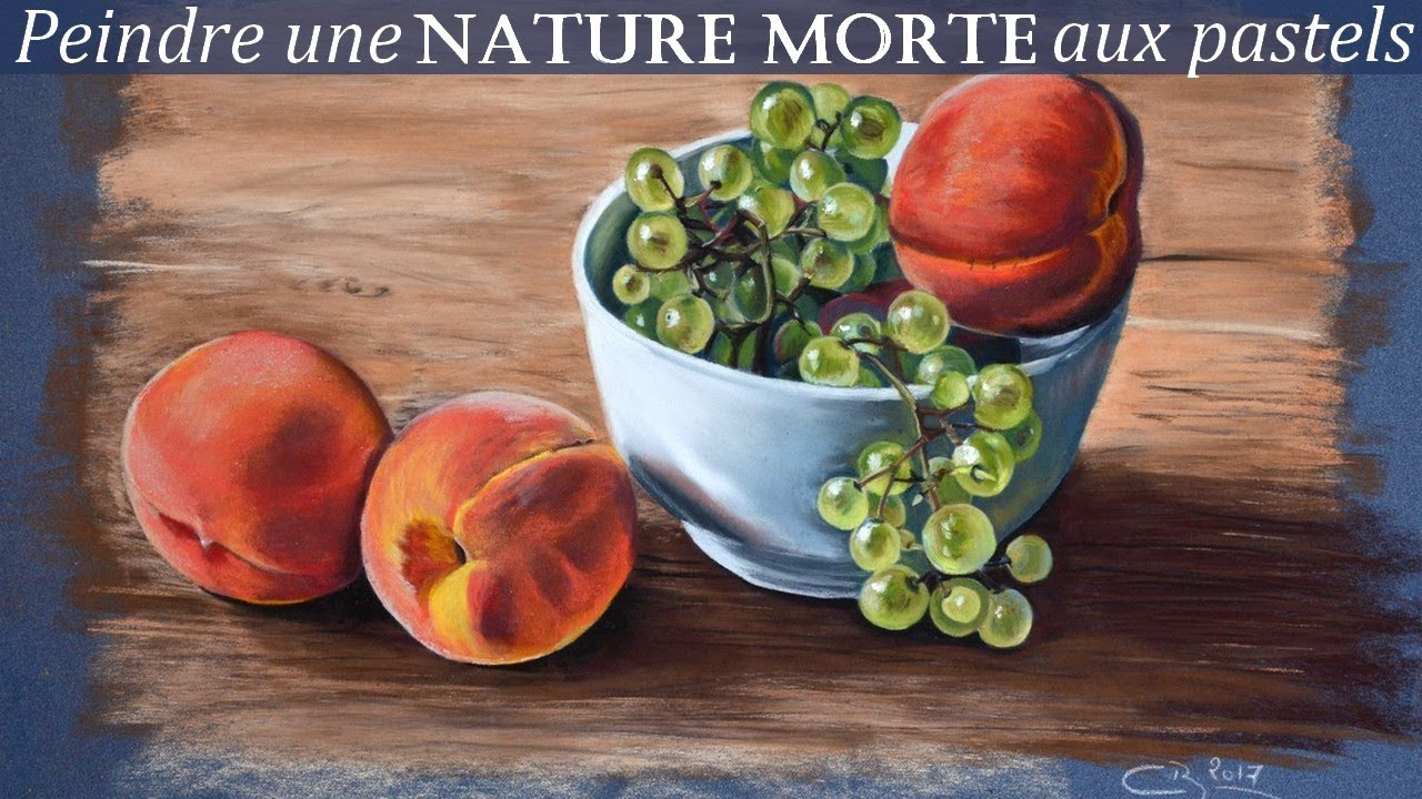 Nature morte au pastel sec youtube - Image nature morte imprimer ...