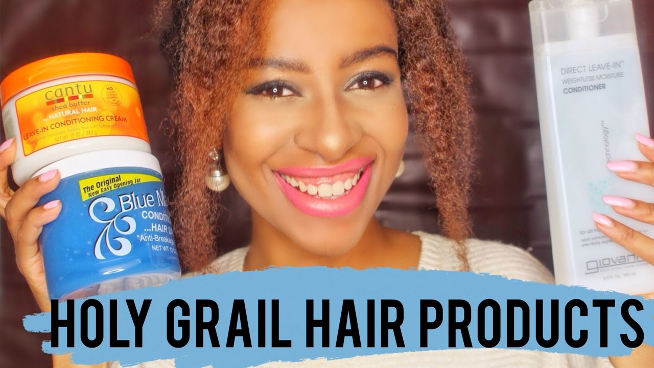 holy grail of natural hair products