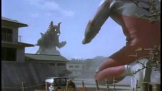Ultraman Tiga vs. Goldras (extended)