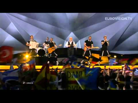 Koza Mostra feat. Agathon Iakovidis - Alcohol Is Free (Greece) - LIVE - 2013 Grand Final