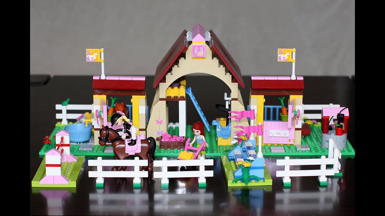 Lego Friends Heartlake Stables Lego 3189 Youtube