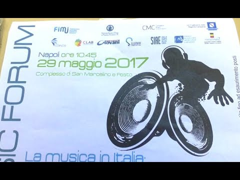 Napoli - Benji & Fede e Maldestro al Digital Music Forum (30.05.17)
