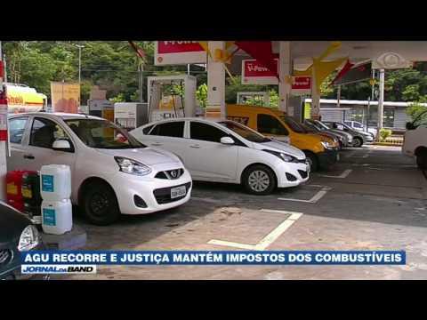 AGU Recorre E Justiça Mantém Impostos Dos Combustíveis