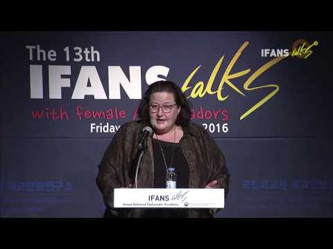The 13th IFANS Talks with female Ambassadors(23 Sep. 2016, Clare Fearnley)