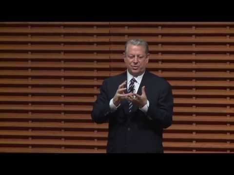Al Gore: Leaders Must Supply Vision, Values & Goals