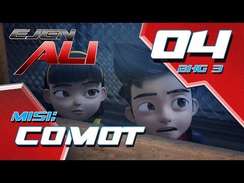 Ejen Ali (Episod 4 Bhg 3) - Misi : COMOT