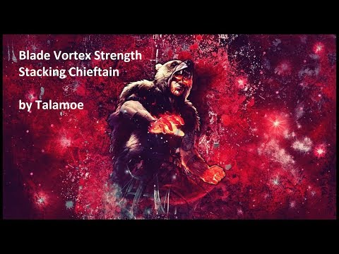Talamoe's Strength Stacking Chieftain Blade Vortex - T16 Clearspeed with 5L and trash gear