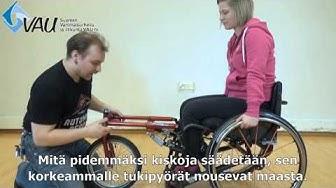 Nokkapyörä Stricker Lomo 360