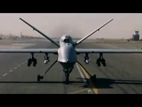 """Obama Writing """"Rules"""" for Killing People with Drones"""