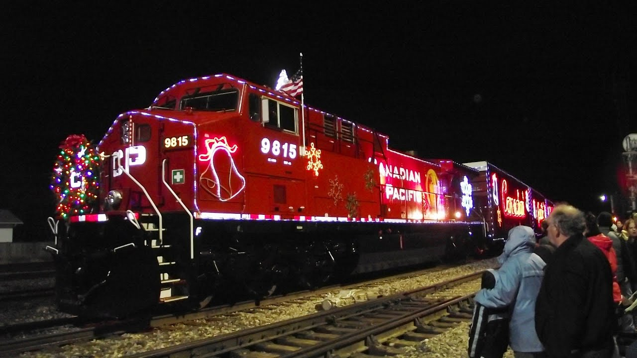 canadian pacific christmas holiday train 2011 youtube - The Christmas Train