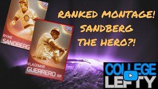 RANKED SEASONS MONTAGE!! VLAD RETURNS! SANDBERG IS THE HERO?! MLB THE SHOW 18