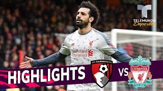 Bournemouth vs. Liverpool: 0-4 Goals & Highlights | Premier League | Telemundo Deportes