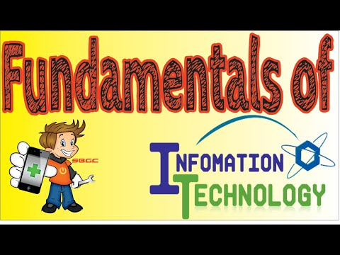A Brief Description about Fundamentals of Computer and Information Technology in Hindi