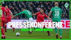 SV Werder Bremen - Union Berlin (0:2) | Pressekonferenz zum Spiel