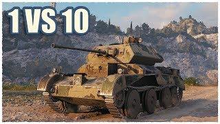 Download Lagu 7205 Battle on Cruiser Mk. IV • 14 KILLS • 1 VS 10 • WoT Gameplay mp3
