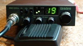 Uniden PRO 520 xl - Zanim kupisz cb radio - Test # 11