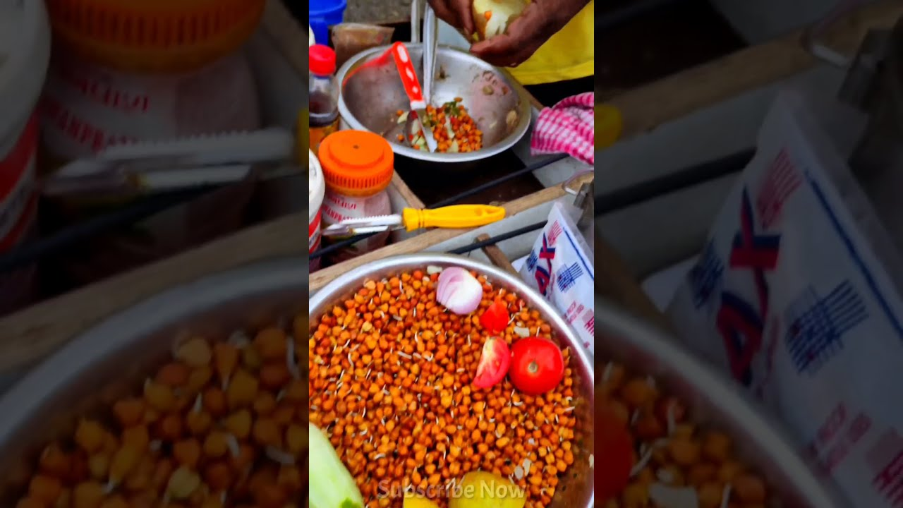 Special Chana Masala chaat Rs.10/- Only🤤🤤 #shorts #indianstreetfood