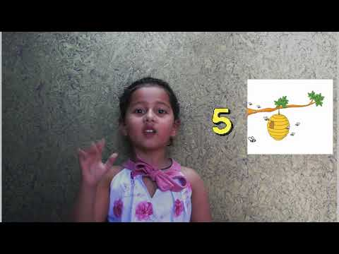 Learn 1 to 10 | Kids Learning | Learn New Rhyme | Can Be Used With Props For Nursery Competitions