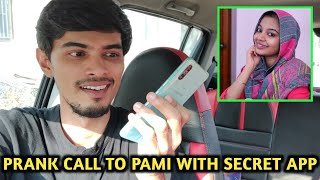 PRANK CALL TO PAMI IN FEMALE VOICE..😜 With SECRET APP | 4 BEST APPS | CyberTamizha