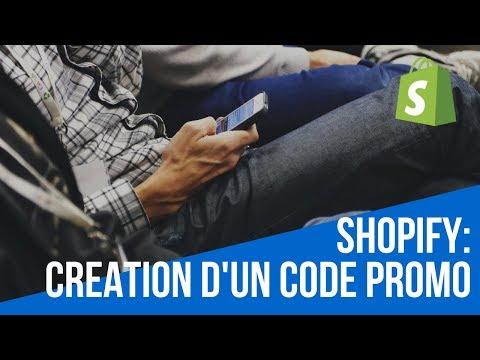 Shopify : Créer Un Code Promo