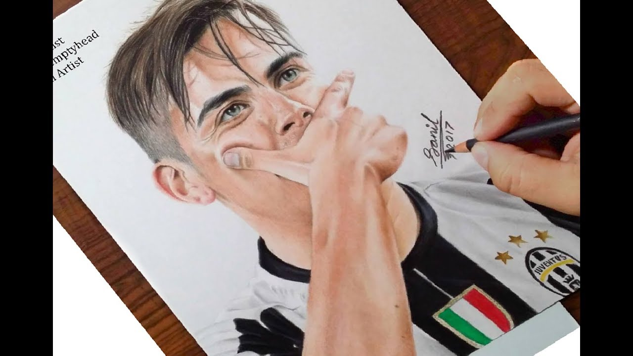 Drawing Of Paulo Dybala Featured On Juventus Official Instagram