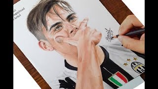 Drawing of Paulo Dybala ..... Featured on