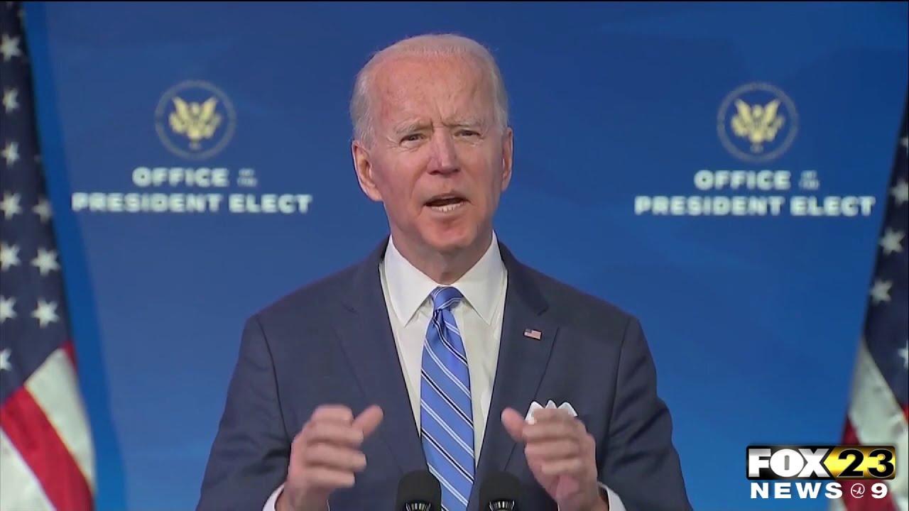 President-elect Biden's unveils rescue plan