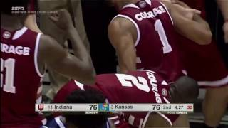 Highlights: Indiana 103, Kansas 99