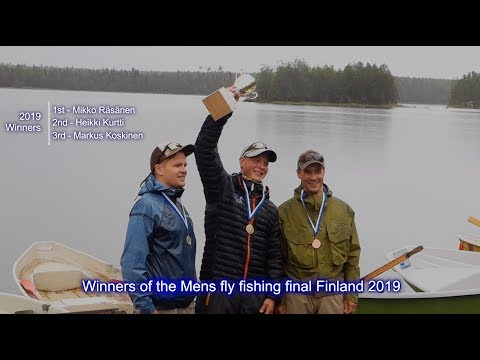 Finland Fly Fishing Championships 2019 Mens Final