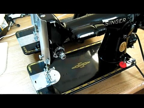 DirectDrive Vintage Singer Sewing Machines 4040 Vs 4040 YouTube Inspiration Antique Singer Sewing Machine Model 15 91