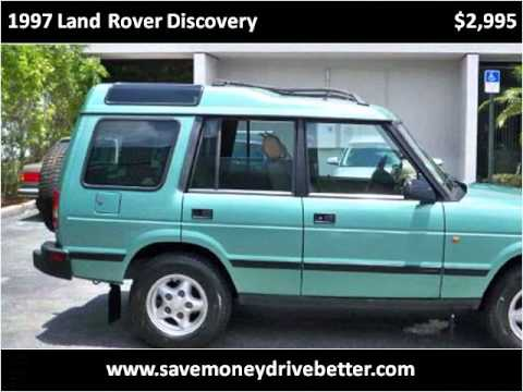 1997 Land Rover Discovery Used Cars West Palm Beach FL
