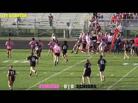 Grand Blanc High School Powder Puff Game 2017