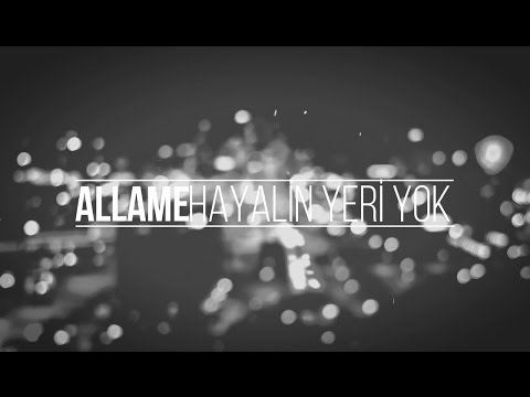 Allâme - Hayalin Yeri Yok (Kinetic Typography)