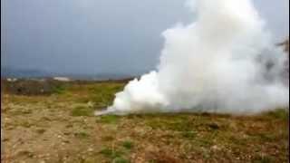 Granat dymny DG50TZM biały
