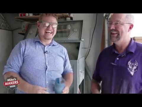 Mike's Makers: Engraving With A Sandblaster