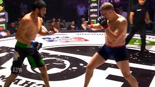 Dagestani Fighter Crushes russian guy by Brutal Knockout, MMA HD
