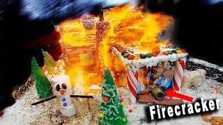 Gingerbread House Fire!!